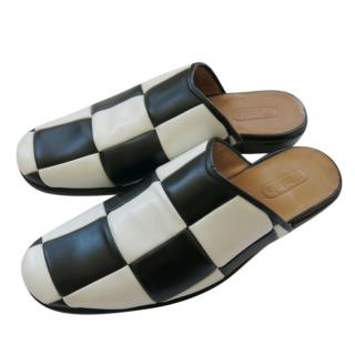 Silvano Lattanzi Black & White Check Slides