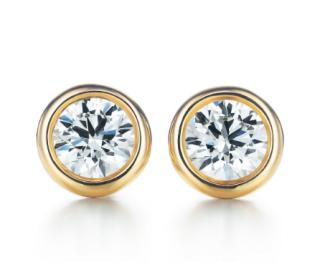 Tiffany & Co. Elsa Peretti Diamonds by the Yard Studs