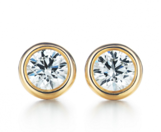 Tiffany & Co. Elsa Peretti Diamonds by the Yard Studs
