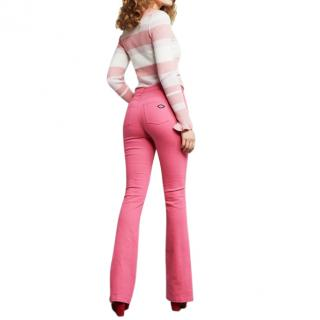 Fabienne Chapot Eva Denim Flared Trousers