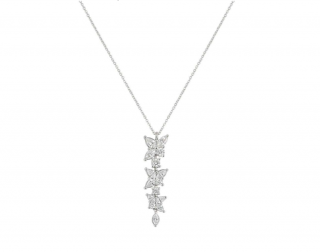 Tiffany & Co. Platinum Diamond Pendant