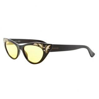Gucci GG-3807-S Cat-Eye Runway Sunglasses