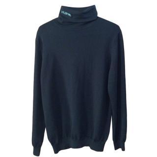 Valentino VLTN Black Rollneck Sweater