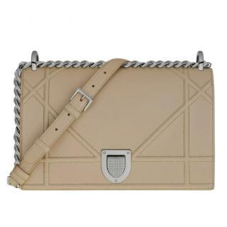 Dior Gold Diorama Medium Shoulder Bag