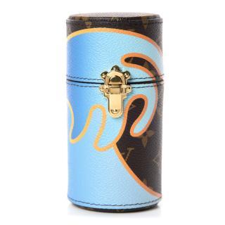 Louis Vuitton x Alex Israel  limited edition monogram  Perfume case 10