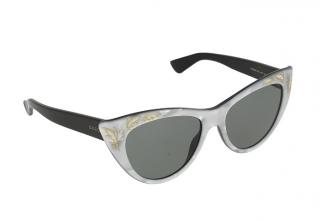 Gucci GG-3806-S Silver Cat-Eye Sunglasses