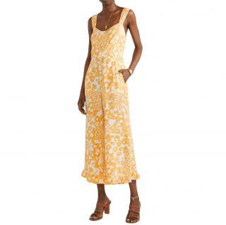Faithfull The Brand Kasbah Jumpsuit in Jasmine Yellow