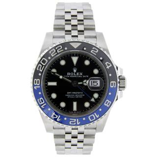 Rolex Unworn GMT-Master II Batman Gents Stainless Steel Black