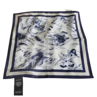 Gucci Striped Sea Storm Scarf