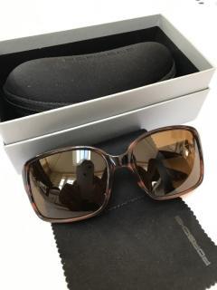 Porsche Design Drivers' Selection Tortoiseshell Sunglasses