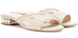 Nicholas Kirkwood Casati 18 Canvas Sandals