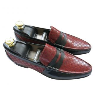 Zilli Two-Tone Moccasin Loafers