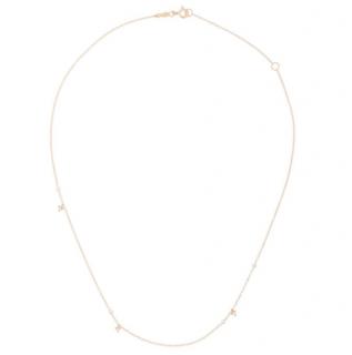 Catbird 14k Rose Gold Dewdrop Necklace