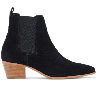 Iro Yvette Suede Black Boots