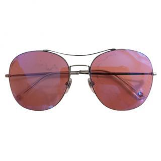 Gucci Pink Aviator Sunglasses