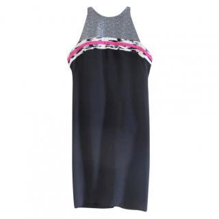 Balenciaga Multi-Print Sleeveless Dress