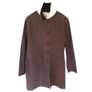 Hermes Reversible Tailored Cotton Coat