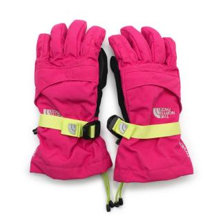 The North Face Junior Pink Ski Gloves