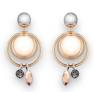 Dior Mise En Dior Crystal Dangle Earrings