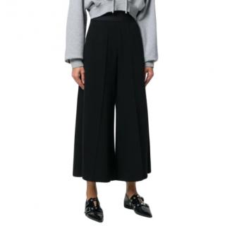 MM6 Maison Margiela Black Wide Leg Culottes