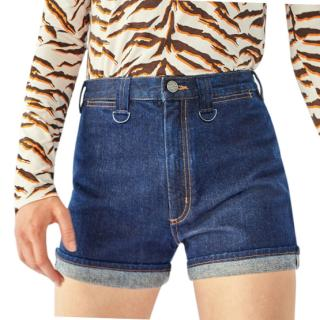 MiH Bay Garnet Denim Shorts