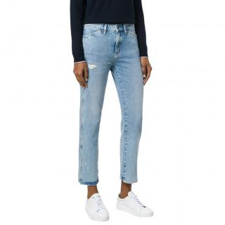 MiH Mid Rise Straight Cult Jeans