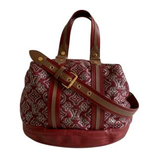 Louis Vuitton Bordeaux Aviator Tote Bag