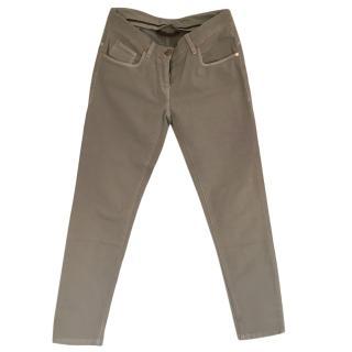 Brunello Cucinelli Grey Jeans