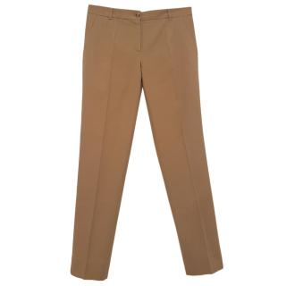 Dolce & Gabbana Beige Tailored Pants