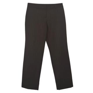 Dolce & Gabbana Black Tailored Pants