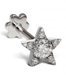 Maria Tash 4.5mm Diamond Star Earring