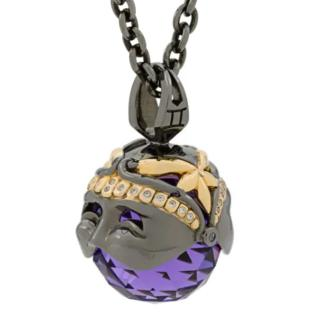 Stephen Webster Astro Collection Gemini Ball Pendant Necklace
