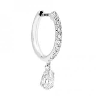 Anita Ko Huggies 18-karat white gold diamond earring