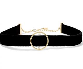 Anissa Kermiche Velvet, 14-karat gold and pearl choker