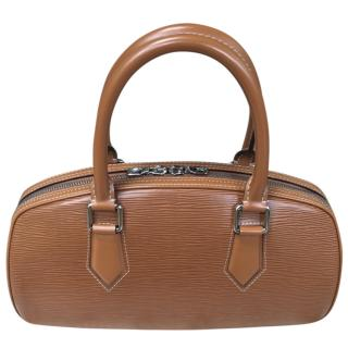 Louis Vuitton Brown Epi Leather Top Handle Bag