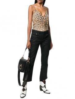 Frame Silk Cheetah Print Cami Top