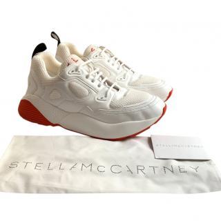 Stella McCartney Red/White Men's Eclypse Sneakers