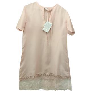 La Perla Blush Pink Silk Blend Nightdress