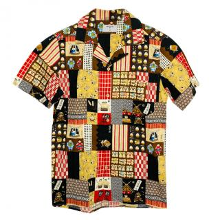 Percival Multi-Colour Printed Shirt