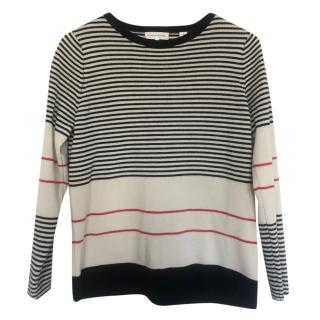 Chinti & Parker Striped Wool Jumper