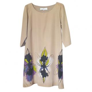Designers Remix Floral Print Shift Dress