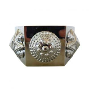 Burberry Prorsum Warrior Oversized Hexagon Cuff