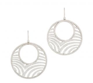 Garrard White Gold Diamond Earrings