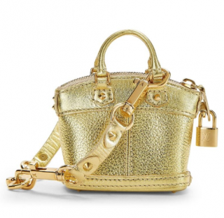 Louis Vuitton Gold Suhali Lockit Bag Charm