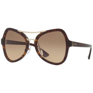Prada SPR18S Gradient Cat's Eye Sunglasses