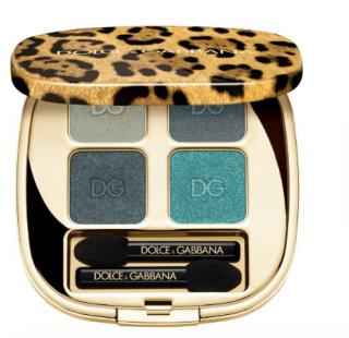 Dolce & Gabbana Felineyes Mediterranean Blue Eyeshadow Quad