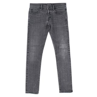 Tom Ford Slim Grey Denim Jeans