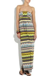 Diane von Furstenberg Farrin Jersey Maxi Dress