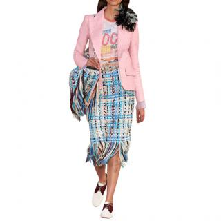 Chanel Paris-Cuba Pink Silk Blazer