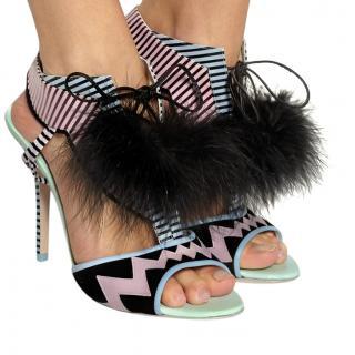 Sophia Webster Leilou Pom Pom Sandals